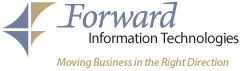 Forward IT Logo - Moving business in the right direction!